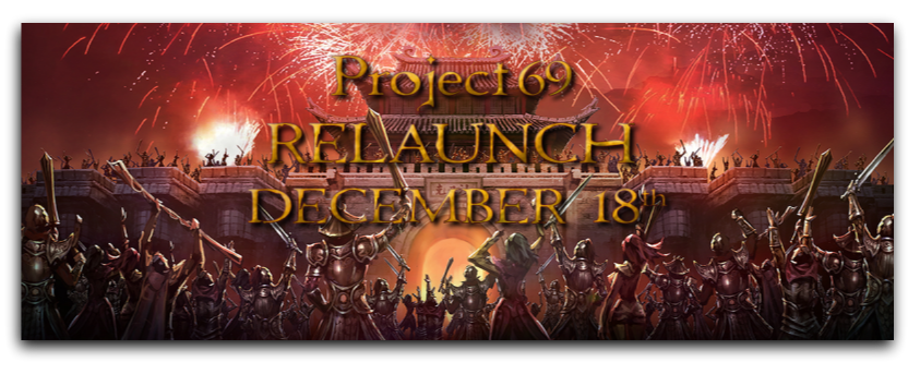 Project69 Relaunch